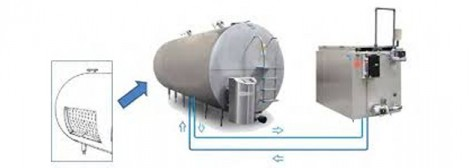 Free Level Measurement Tool in Bulk Milk Cooling Tanks through Dipsticks